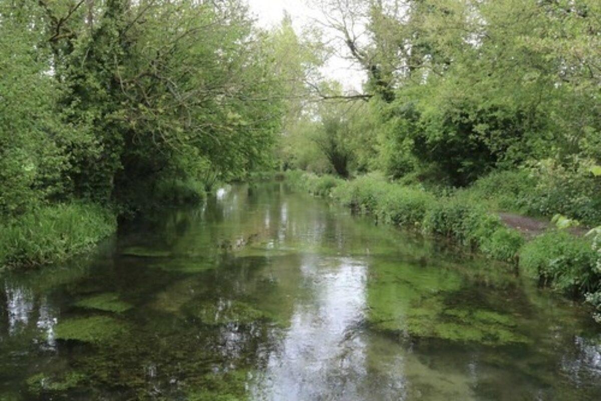 A Splash Along the River Arle large photo 2