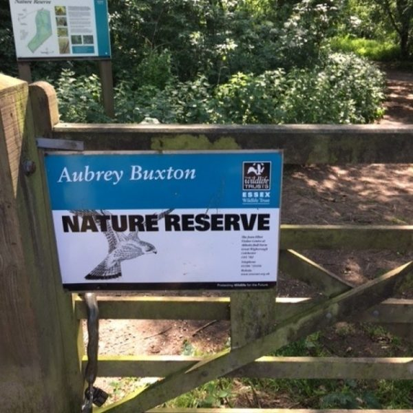 Dog walk at Aubrey Buxton Nature Reserve
