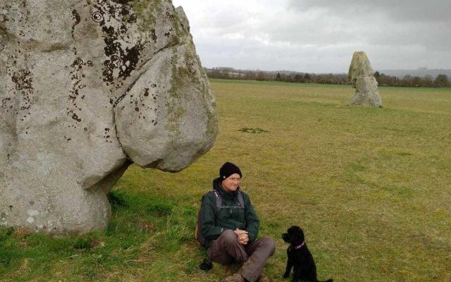 Avebury-Windmill Hill Dog walk in Wiltshire