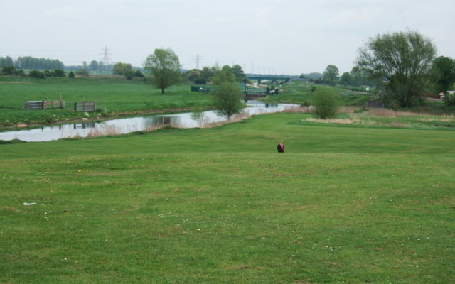 Back River, Stanground, Peterborough Dog walk in Cambridgeshire