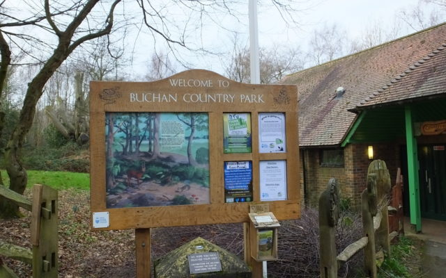 Buchan Country Park Dog walk in Sussex (East)