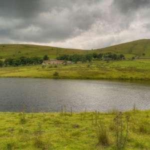 Castleshaw Reservoirs Walk, Delph, Heights Circular