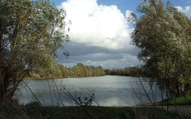 Chivers Lake Dog walk in Cambridgeshire