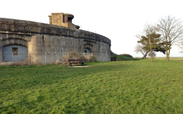 Coalhouse Fort Park Dog walk in Essex