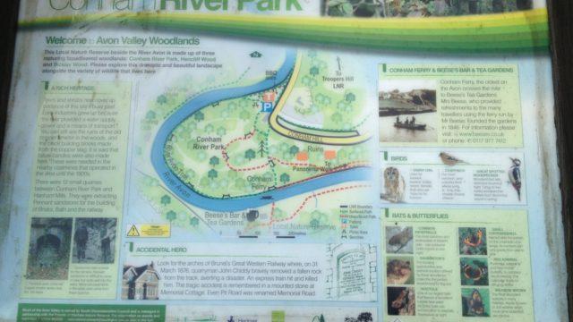 Dog walk at Conham River Park & Avon River Trail