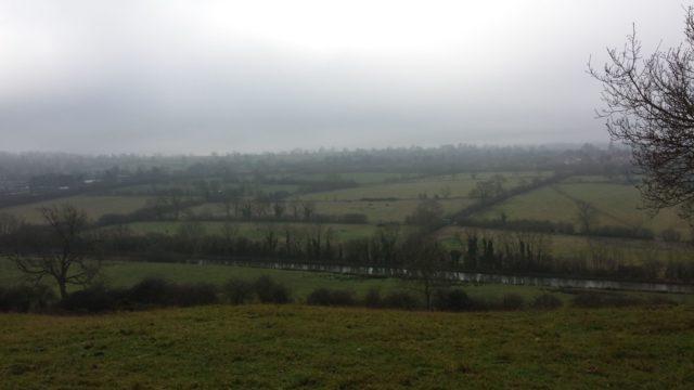 Dog walk at Crick Hill