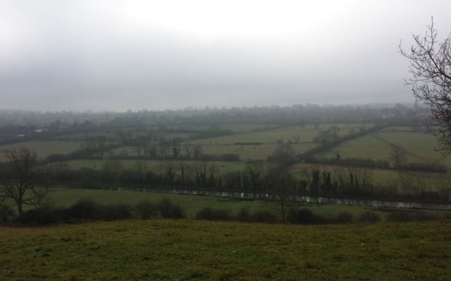 Crick Hill Dog walk in Northamptonshire