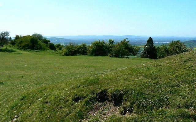 Crickley Hill Country Park Dog walk in Gloucestershire