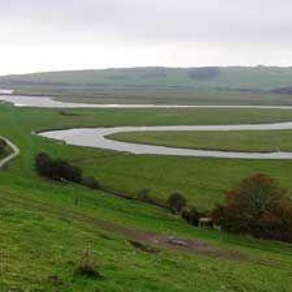 Dog walk at Cuckmere