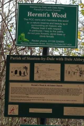 Dog walk at Dale Abbey Loop photo