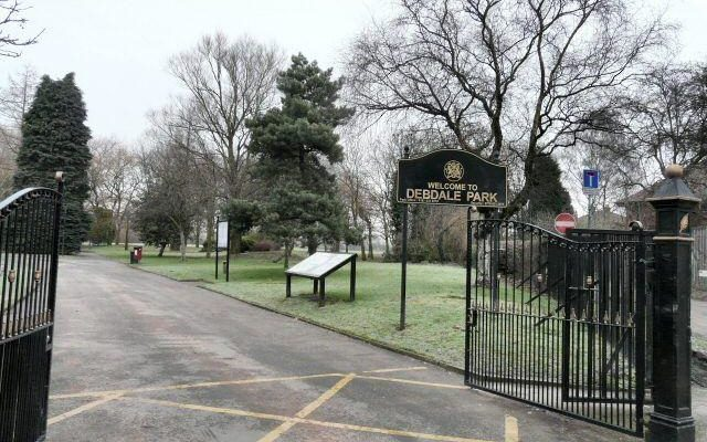 Debdale Park Dog walk in Manchester (Greater)