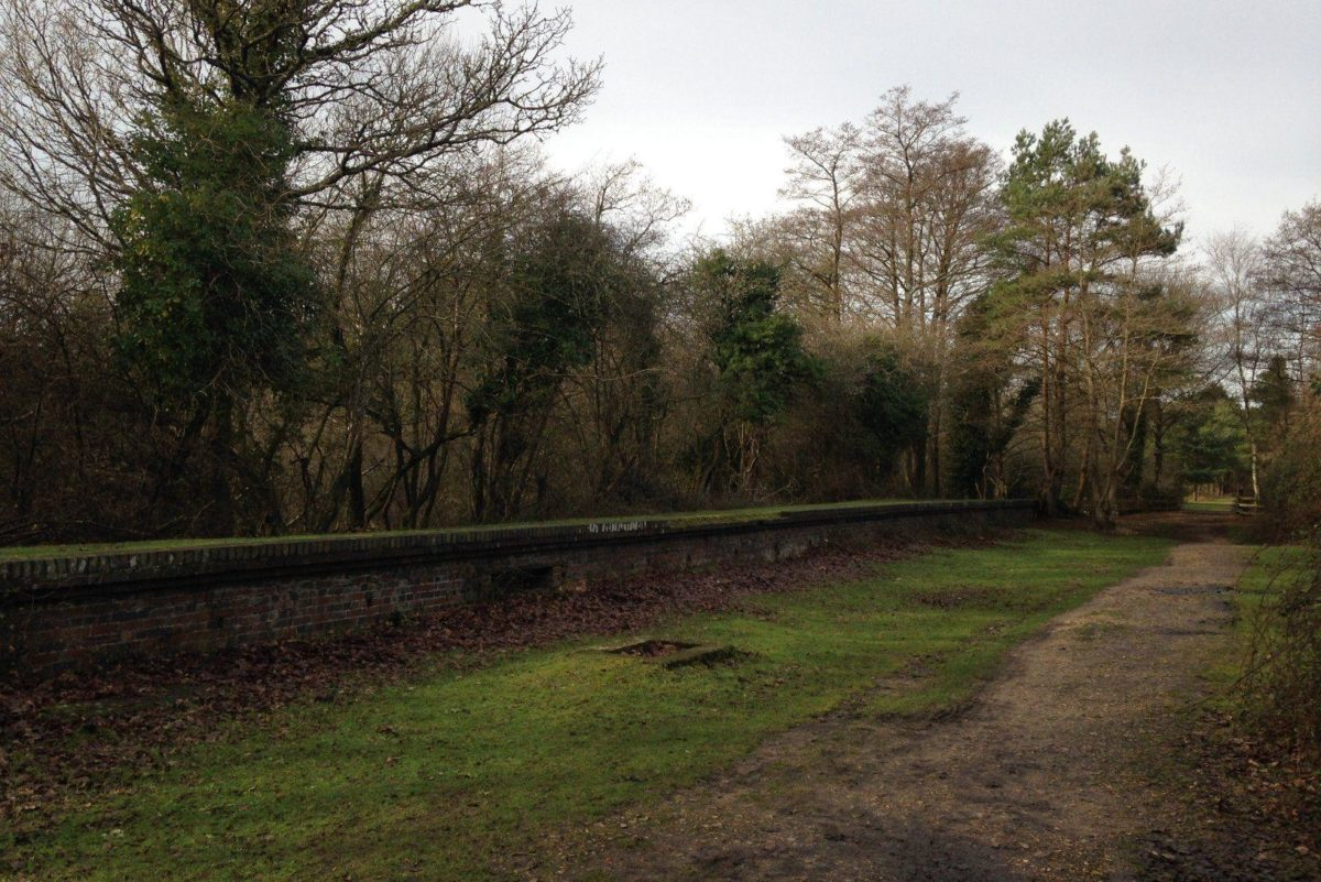 Disused Railway At Burley large photo 7