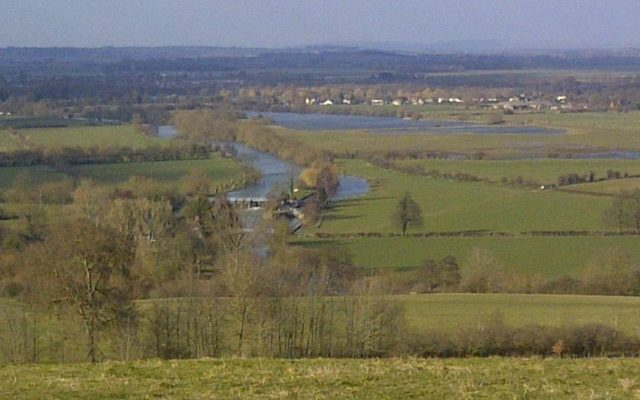 Dorchester On Thames To Wittingham Clumps Dog walk in Oxfordshire