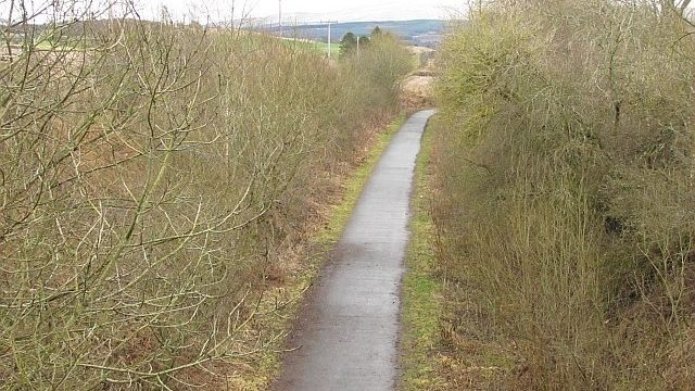 Dog walk at Dunblane to Doune Cycle Path
