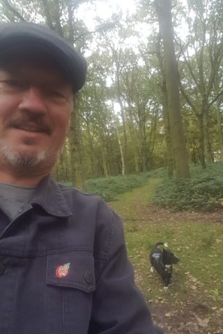 Dog walk at Epping Forest photo