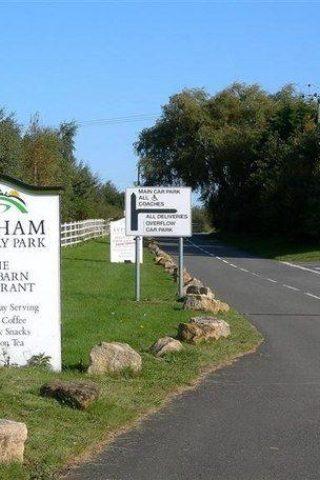 Dog walk at Evesham Country Park photo