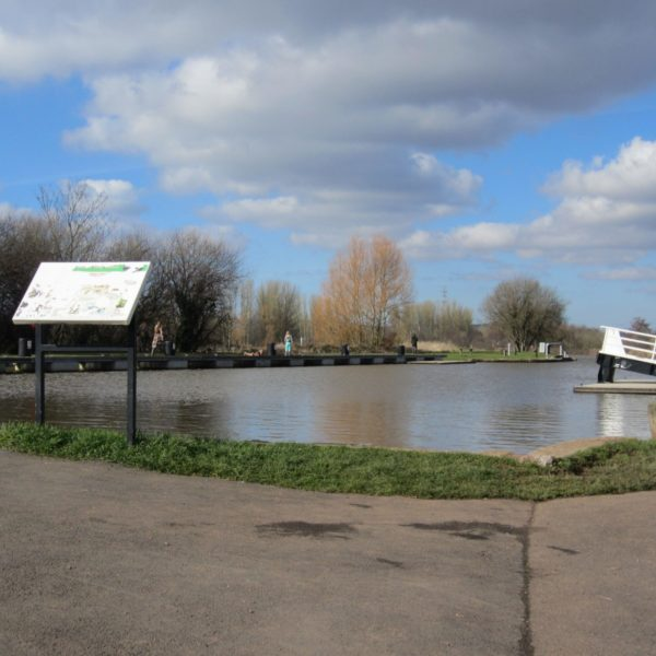 Dog walk at Exeter Canal