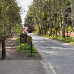 Formby Squirrel Reserve (leading To The Beach)