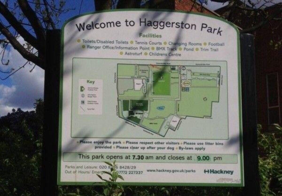 Haggerston Park, Hackney large photo 4