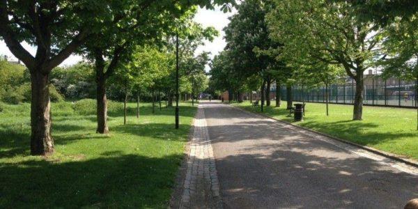 Haggerston Park, Hackney
