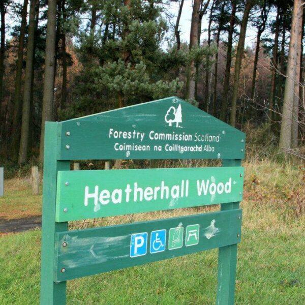 Heatherhall Woods, Ladybank photo 2