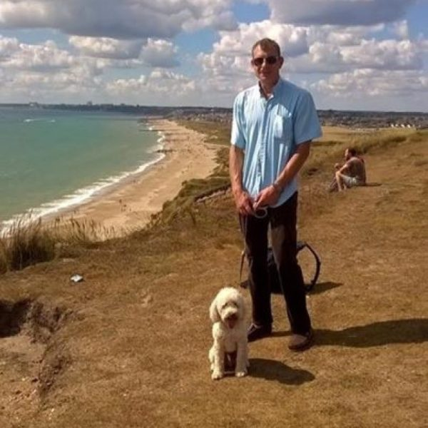 Dog walk at Hengistbury Head