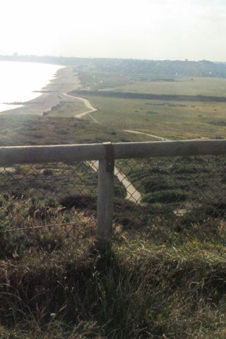 Dog walk at Hengistbury Head photo
