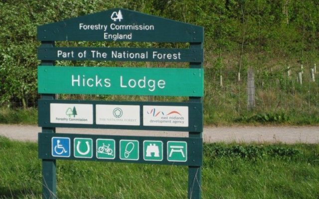 Hicks Lodge Dog walk in Leicestershire