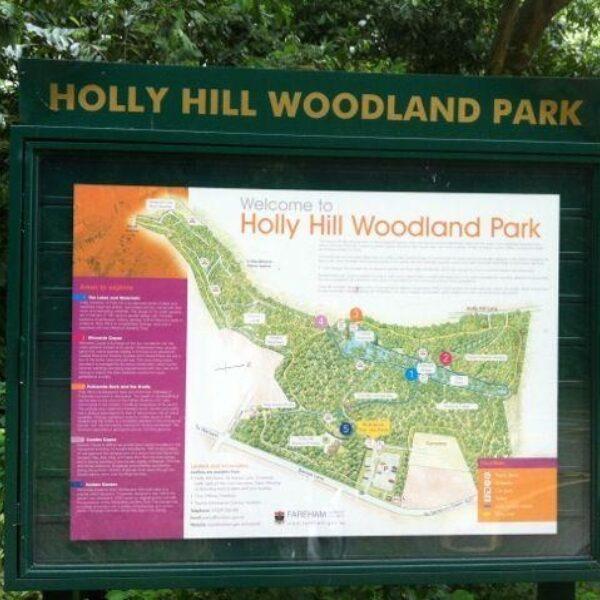 Dog walk at Holly Hill, Sarisbury Green