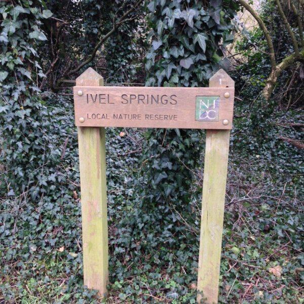 Dog walk at Ivel Springs, Baldock