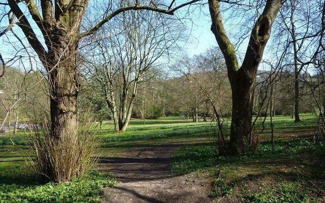 Kearsney Abbey Dog walk in Kent