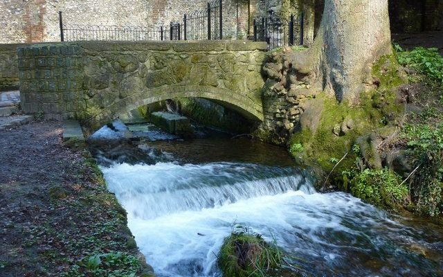 Kearsney Abbey Dog walk in Kent