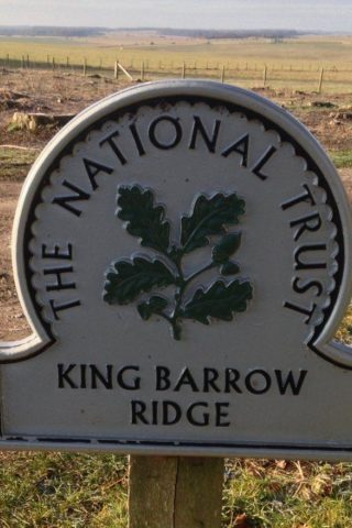 Dog walk at King Barrow Ridge - Stonehenge - Carcus Walk photo
