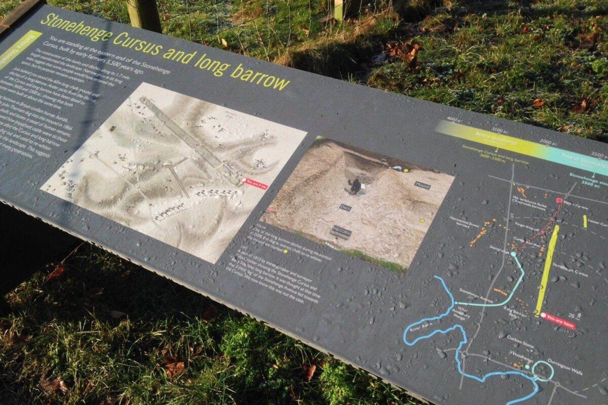 King Barrow Ridge - Stonehenge - Carcus Walk large photo 20