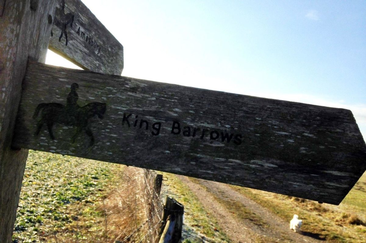 King Barrow Ridge - Stonehenge - Carcus Walk large photo 3