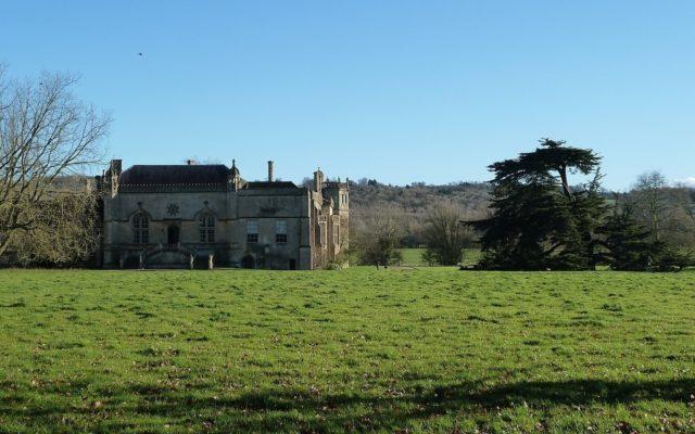 Lacock Abbey Dog walk in Wiltshire