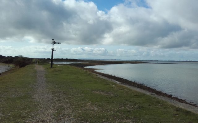 Langstone Harbour and Hayling Island Dog walk in Hampshire