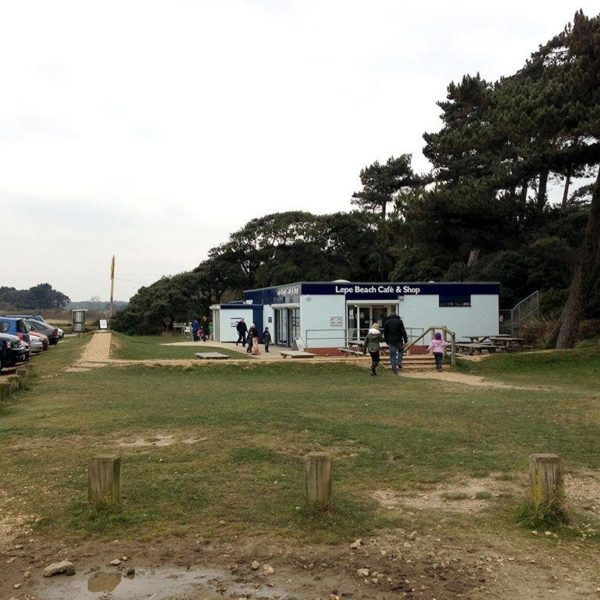 Dog walk at Lepe Beach & Country Park