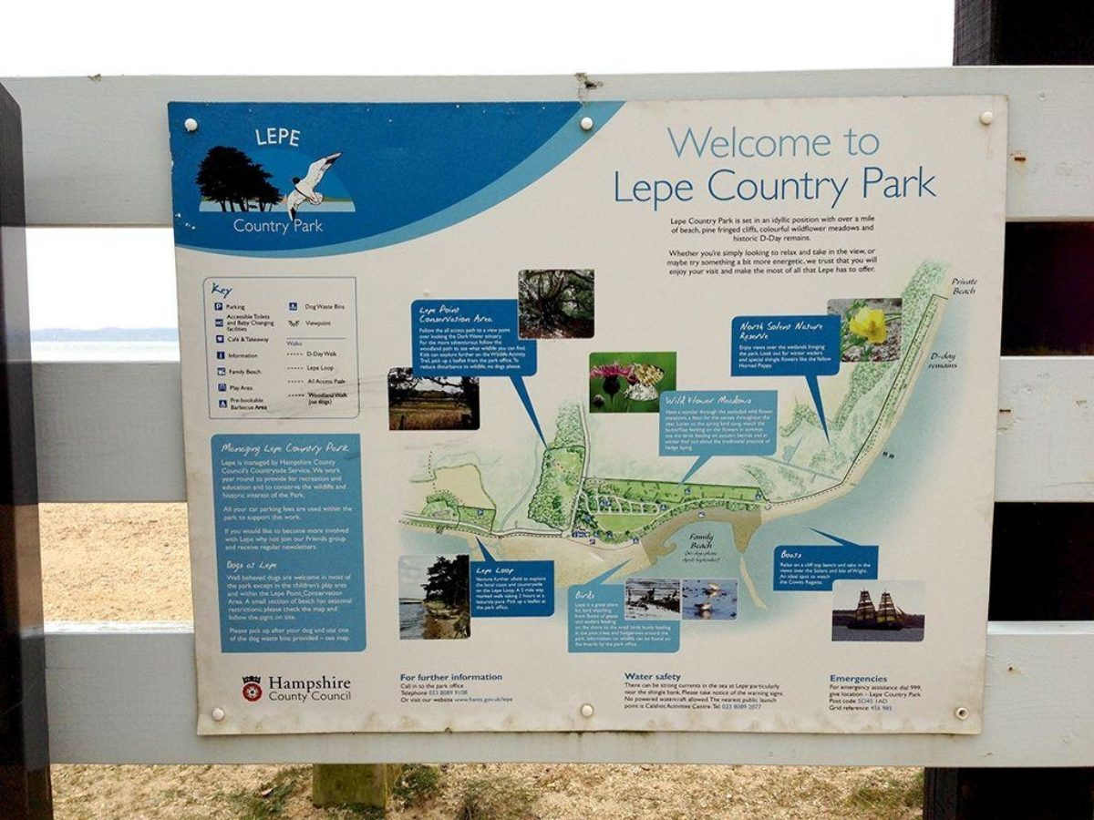 Lepe Beach & Country Park large photo 7
