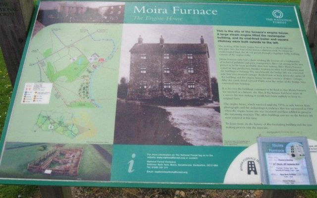 Moria Furnace Dog walk in Leicestershire