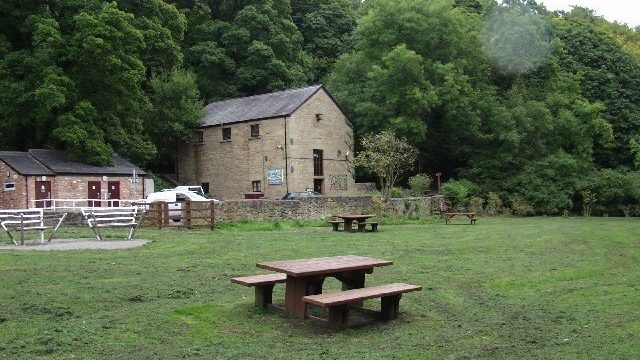 Dog walk at Nant Mill, Coedpoeth Near Wrexham