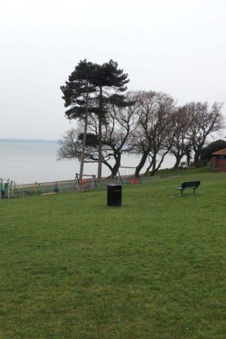 Dog walk at Netley Abbey Hall Recreation Ground, Netley Abbey photo