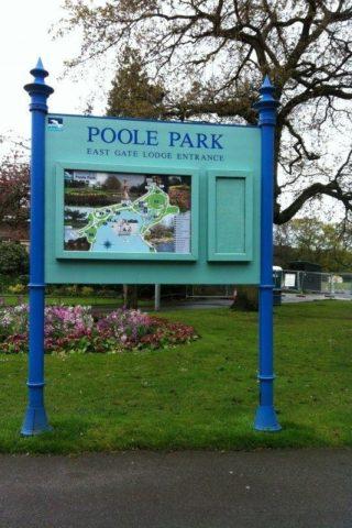 Dog walk at Poole Park photo