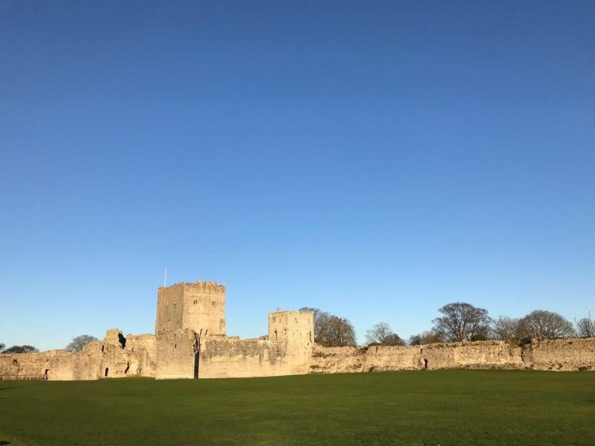 Portchester Castle large photo 1
