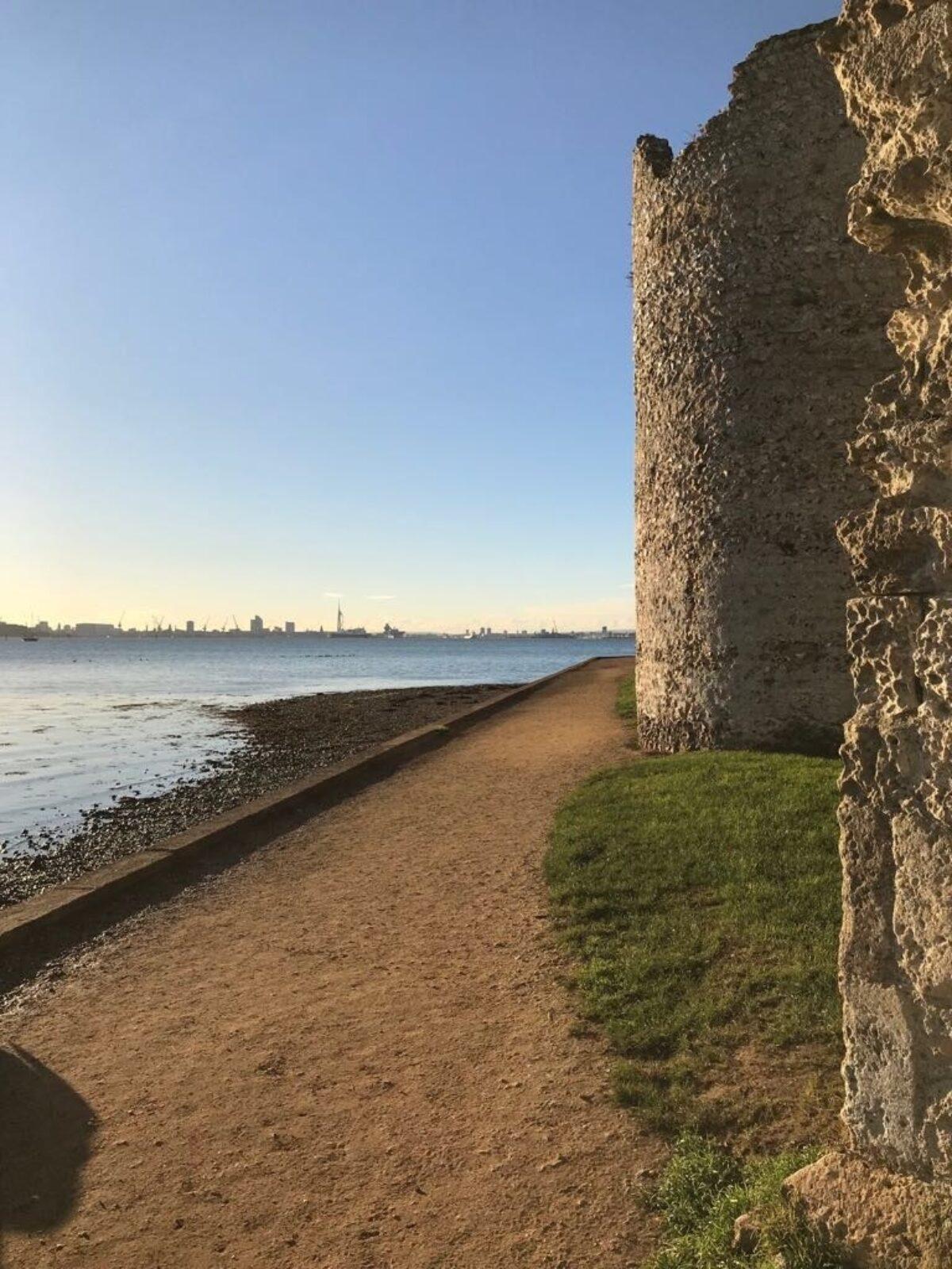 Portchester Castle large photo 2