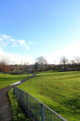Dog walk at Riverside Park photo