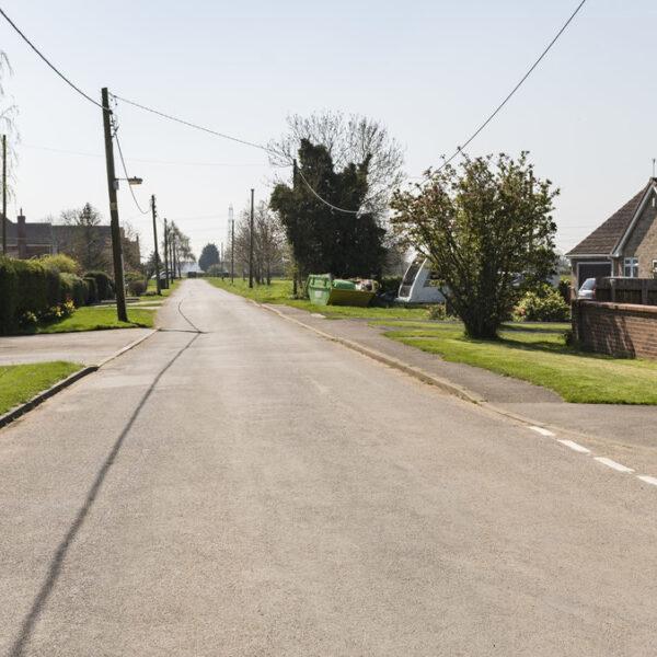 Dog walk at Ruskington, Leasingham Lane