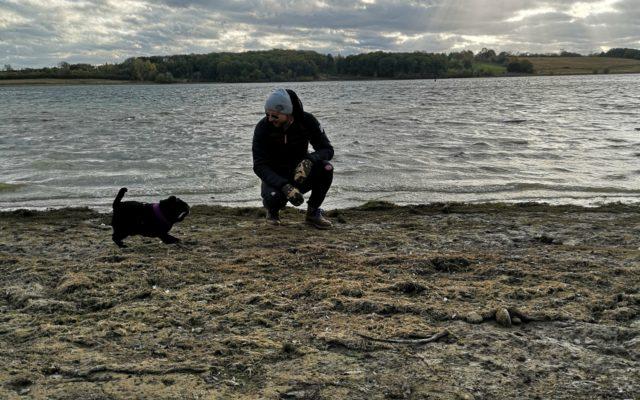 Rutland Water Reservoir Dog walk in Rutland