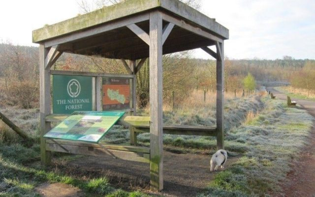 Sence Valley Park Dog walk in Leicestershire