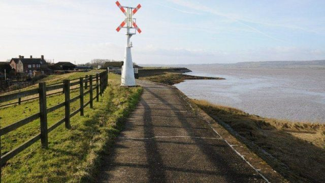 Dog walk at Severn Way